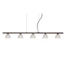 Divi 5 Light Kitchen Island Pendant