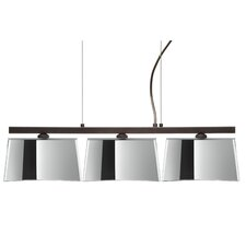 Groove 3 Light Kitchen Island Pendant