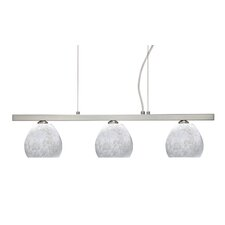 <strong>Besa Lighting</strong> Tay Tay 3 Light Linear Pendant