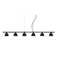 Divi 6 Light Kitchen Island Pendant