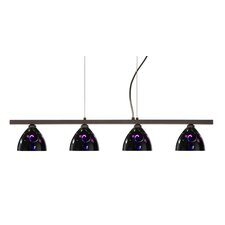 Sabrina 4 Light Linear Pendant