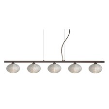 Lasso 5 Light Kitchen Island Pendant