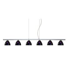 Sabrina 6 Light Linear Pendant