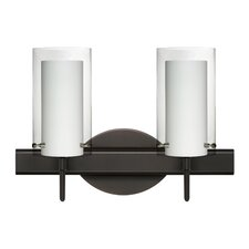 Pahu 2 Light Vanity Light