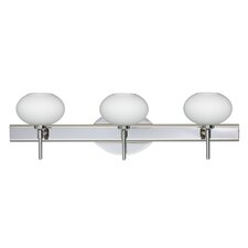 <strong>Besa Lighting</strong> Lasso 3 Light Bath Vanity Light