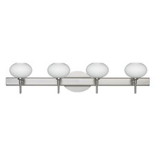 <strong>Besa Lighting</strong> Lasso 4 Light Bath Vanity Light