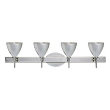 <strong>Besa Lighting</strong> Mia 4 Light Bath Vanity Light
