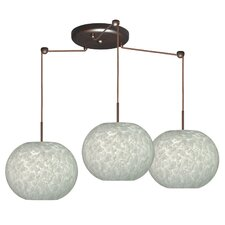Luna 3 Light Globe Pendant