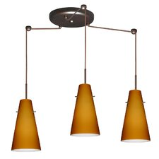 <strong>Besa Lighting</strong> Cierro 3 Light Pendant
