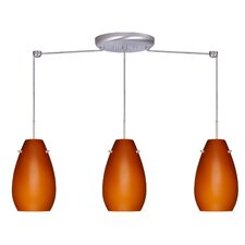 Pera 3 Light Linear Pendant