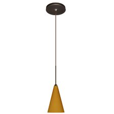 <strong>Besa Lighting</strong> Kiki 1 Light Pendant