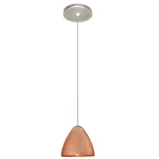 <strong>Besa Lighting</strong> Mia 1 Light Mini Pendant