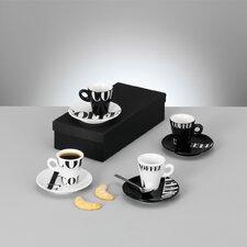 "8-tlg. Espresso Set ""Coffee Style"""
