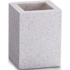 "7cm x 7cm Zahnputzbecher ""Stone"""