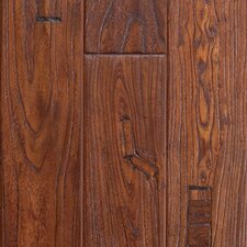 "<strong>Mohawk Flooring</strong> Artiquity Zanzibar 5"" Engineered Elm Flooring in Antique Cherry"
