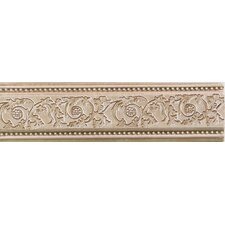 "Natural Bella Rocca 9"" x 2-1/2"" Bridge Accent Strip in Etruscan Gold"