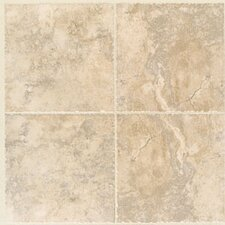 "Bucaro 13"" x 13"" Floor Tile in Noce"