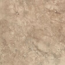 "Mirador 13"" x 13"" Floor Tile in Brown Pearl"