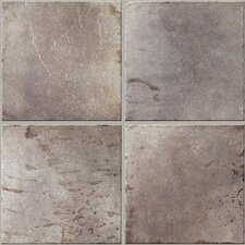 "<strong>Mohawk Flooring</strong> Quarry Stone 17"" x 17"" Floor Tile in Slate"