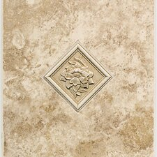 "Natural Ristano 12"" x 9"" Decorative Accent Wall Tile in Noce"