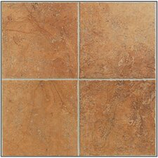 "<strong>Mohawk Flooring</strong> Egyptian Stone 6 1/2"" x 6 1/2"" Wall Tile in Luxor Red"