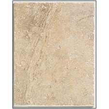 "Egyptian Stone 13"" x 10"" Wall Tile in Ramses White"