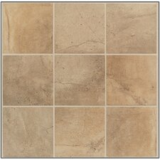 "Sardara 18"" x 18"" Floor Tile in Island Brown"