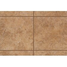 "Natural Bella Rocca 3"" x 3"" Bullnose Corner Tile Trim in Etruscan Gold"