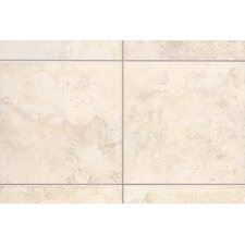 "Natural Bucaro 1"" x 1"" Quarter Round Corner Tile Trim in Bianco"