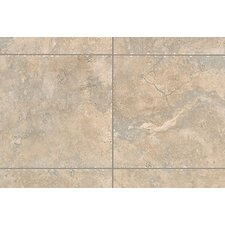 "Natural Bucaro 13"" x 3"" Bullnose Tile Trim in Noce"