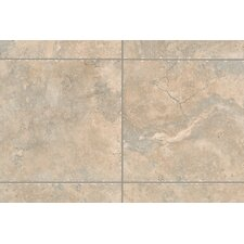 "Natural Bucaro 1"" x 1"" Quarter Round Corner Tile Trim in Noce"