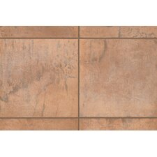 "<strong>Mohawk Flooring</strong> Quarry Stone 4"" x 2"" Counter Rail Tile Trim in Amber"