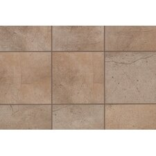 "Sardara 12"" x 3"" Bullnose Tile Trim in Island Brown"
