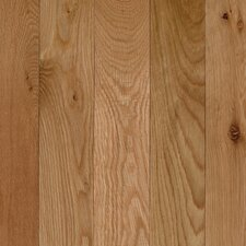 """Lineage Belle Meade 3-1/4"""" Solid White Oak Flooring in Natural"""