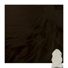 Black Gold Star Longwool Area Rug