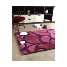 Shortwool Merlot Design Rug
