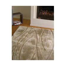 <strong>Bowron Sheepskin Rugs</strong> Shortwool Curves Design Rug