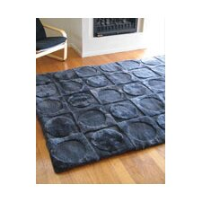 Shortwool Lunar Ink Design Rug