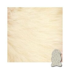<strong>Bowron Sheepskin Rugs</strong> Ivory Gold Star Longwool Rug