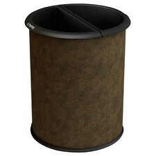 Green Zone Precision Series Vinyl Wrap InnRoom 3.2 Gallon Recycling Waste Basket