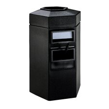 35 Gallon Large Island Convenience Center in Black