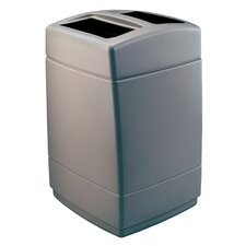 55-Gallon Square Waste Container