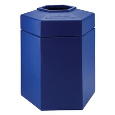 45 Gallon Hex Waste Container