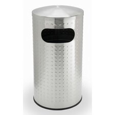 Precision Series Trash Can with Protrusion Dome Lid
