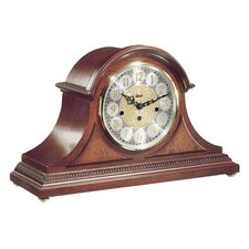 <strong>Hermle Black Forest Clocks</strong> Tambour Clock in Cherry