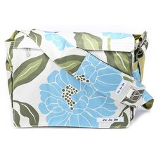 Be All Messenger Diaper Bag in Marvelous Mums
