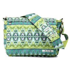 <strong>Ju Ju Be</strong> Be All Messenger Diaper Bag in Sea Glass