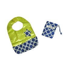Be Neat Reversible Baby Bib in Royal Envy