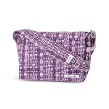 <strong>Ju Ju Be</strong> Be All Messenger Diaper Bag in Ju-Ju-Berry Squares