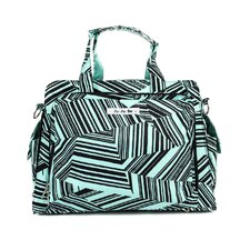 <strong>Ju Ju Be</strong> Be Prepared Messenger Diaper Bag in Mint Chip